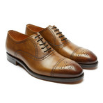 Toe Cap Oxford Goodyear // Brown (Euro: 46)