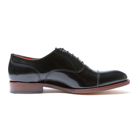Toe Cap Oxford Goodyear // Black (Euro: 40)
