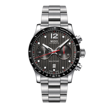 MIDO Multifort Chronograph Automatic // M025.627.11.061.00
