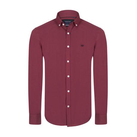 Allen Shirt // Bordeaux (XS)