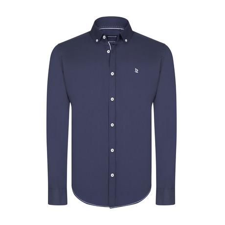Val Shirt // Navy (XS)