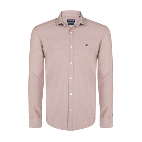 Porter Shirt // Brown (XS)