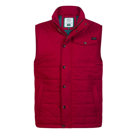 Object Vest // Bordeaux (XS)