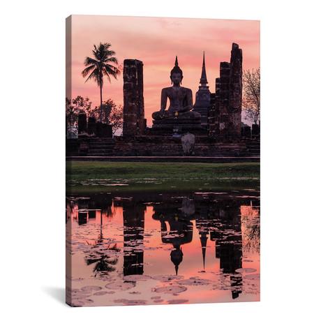 "Wat Mahathat Temple, Thailand // Matteo Colombo (26""W x 40""H x 1.5""D)"