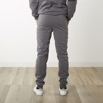 Fleece Splatter Pant // Dark Gray (XL)
