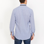 Marius Button Up // Sky Blue (Medium)