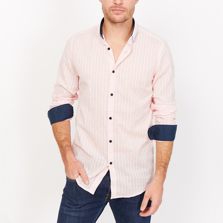 Pietro Button Up // Light Pink (Medium)