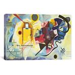 "Gelb - Rot - Blau (Yellow-Red-Blue), 1925 // Wassily Kandinsky (18""W x 12""H x 0.75""D)"