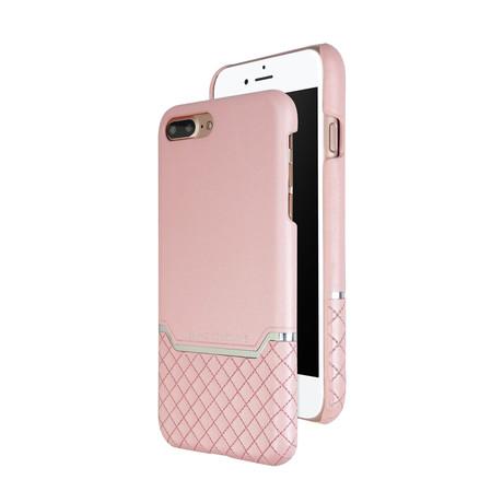 VENANO B Top Grain Leather Case // Sakura Pink (iPhone 7/8 Plus)