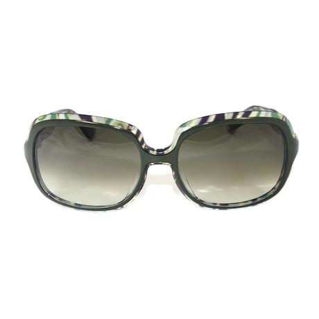 EP637S-024 Sunglasses // Dark Green