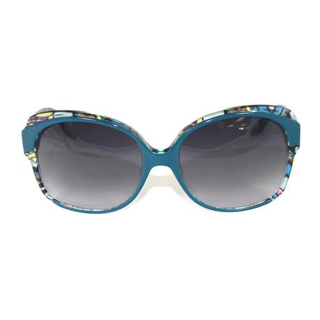 EP669S-445 Sunglasses // Capri Blue