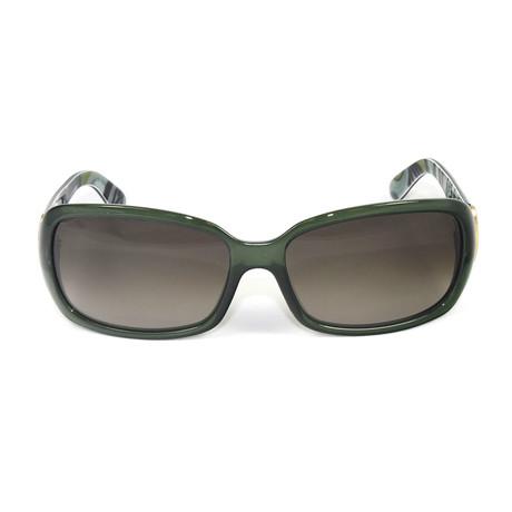 EP677S-300 Sunglasses // Dark Green