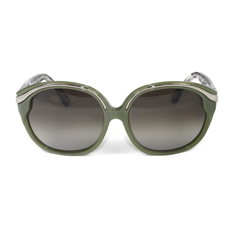 EP689S-318 Sunglasses // Olive Green