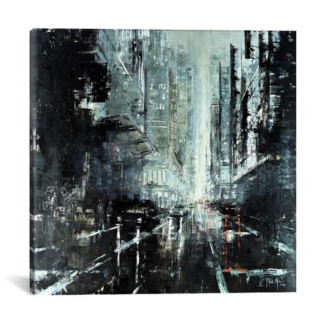 """Dark Afternoon // Martin Koester (18""""W x 18""""H x 0.75""""D)"""