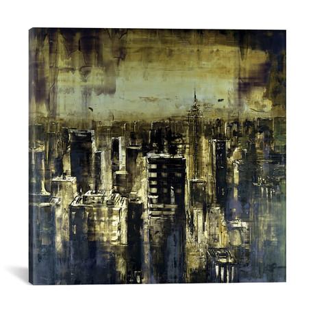 "New York Rise I // Martin Koester (18""W x 18""H x 0.75""D)"