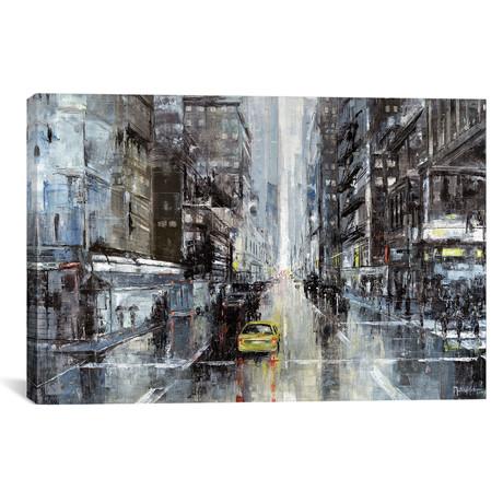 "New York Rainy Days // Martin Koester (18""W x 26""H x 0.75""D)"