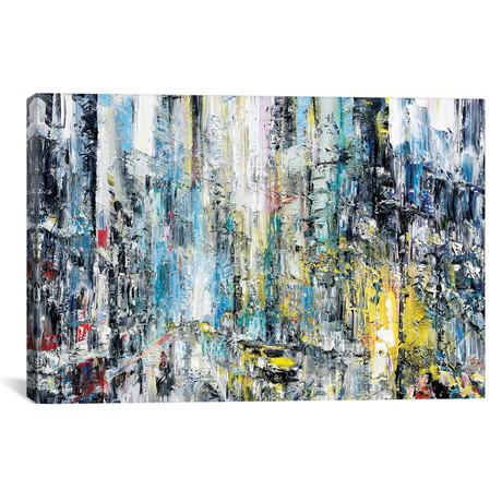 """Rain & Light // Piero Manrique (18""""W x 26""""H x 0.75""""D)"""