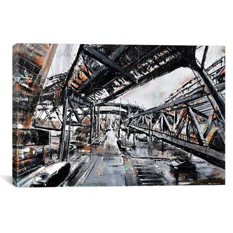 "Urban View // Piero Manrique (18""W x 26""H x 0.75""D)"
