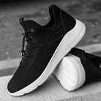 Vince Sneaker // Black + White (US: 7)