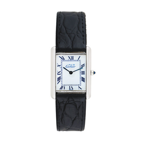 Must de Cartier Tank Quartz // Pre-Owned