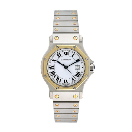 Cartier Santos Octagon Midsize Automatic // Pre-Owned