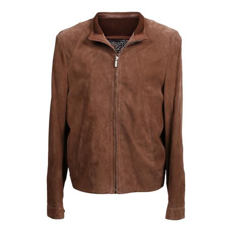 Suede Jacket // Beige (XS)