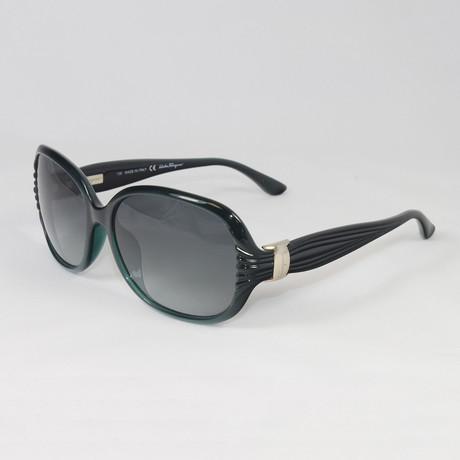 Women's SF648S-311 Sunglasses // Pearl Green