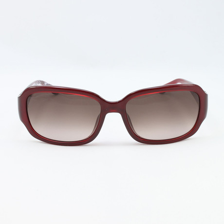 Womens SF660S-624 Sunglasses // Pearl Red