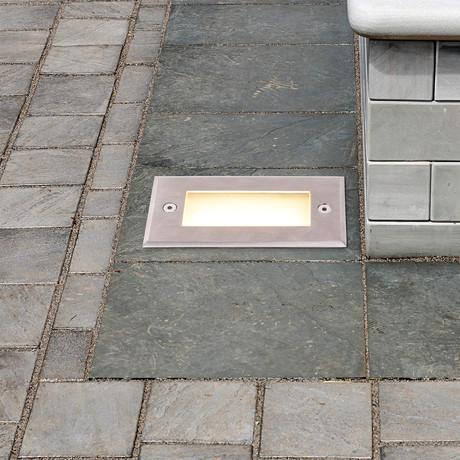 "82511SS LED // 5.5"" 2-Watt Outdoor In-Ground Light"