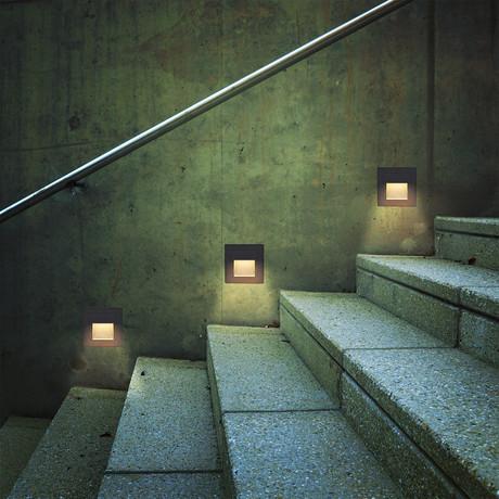 """54478BL LED // 3.25"""" 1-Watt Outdoor Steps Light"""