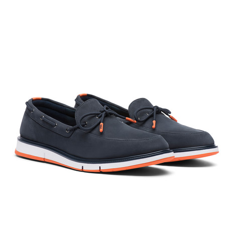 Motion Camp Moccasin // Navy + Orange (US: 7)