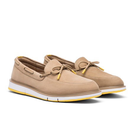 Motion Camp Moccasin // Gaucho + Super Lemon (US: 7)