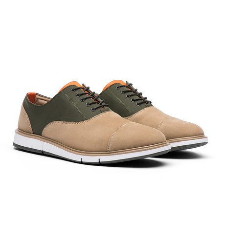Motion Cap Toe // Gaucho + Olive (US: 7)
