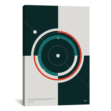 "Orbits // 2046 Design (18""W x 26""H x 0.75""D)"