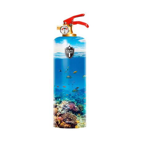 Safe-T Designer Fire Extinguisher // Tropical
