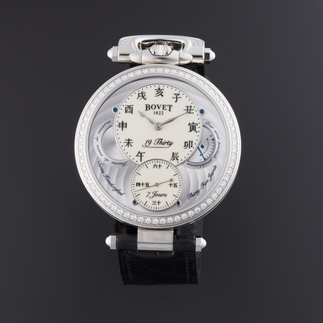 Bovet 19Thirty Fleurier Manual Wind // NTS0010-SD12 // New