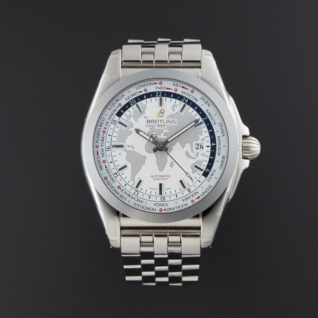 Breitling Galactic Unitime Automatic // WB3510 // New
