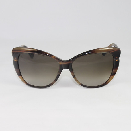 Women's V634S Sunglasses // Beige Horn
