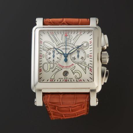 Franck Muller Conquistador Cortez Chronograph Automatic // 10000 H CC // 1705638 // Store Display