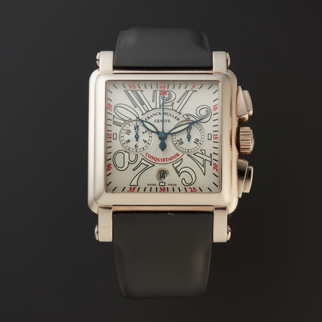 Franck Muller Conquistador Cortez Chronograph Automatic // 10000 H CC // Store Display