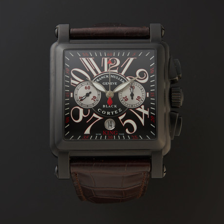 Franck Muller Conquistador Cortez King Chronograph Automatic // 10000 K CC NR // Store Display