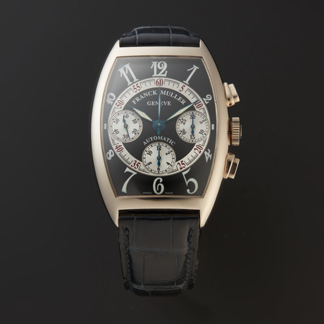 Franck Muller Cintree Curvex Chronograph Automatic // 7850 CC AT // Pre-Owned