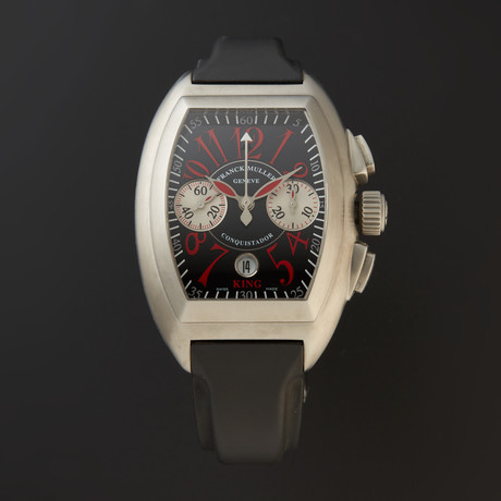 Franck Muller Conquistador King Chronograph Rosso Vivo Automatic // 8005 CC KING // Store Display