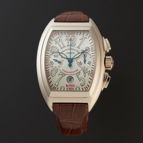 Franck Muller Conquistador King Chronograph Automatic // 8005 K CC // Store Display