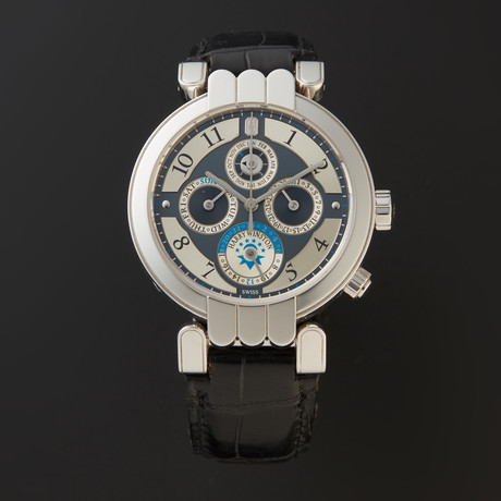 Harry Winston Premier Perpetual Calendar GMT Automatic // 200/MAWPC38WL.A // Store Display