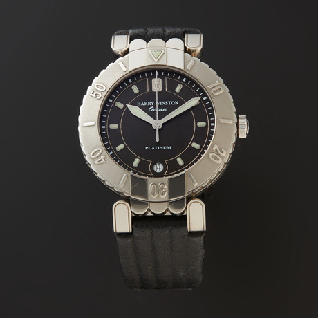 Harry Winston Ocean Automatic // 400/MADV39PL.K // Pre-Owned