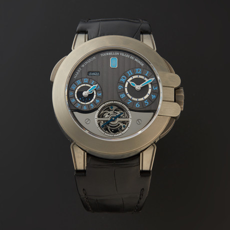 Harry Winston Ocean Project Z5 Tourbillon Automatic // OCEATG45ZZ001 // Store Display