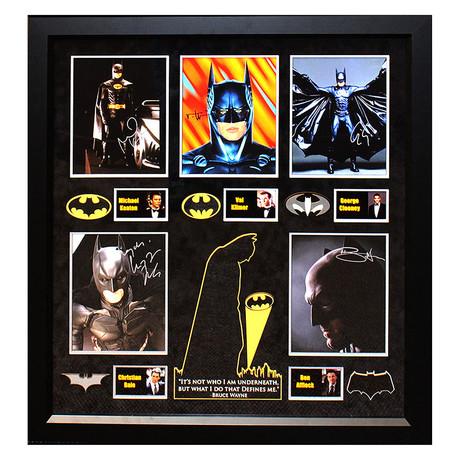 Signed + Framed Collage // Batman