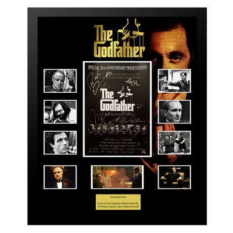 Signed + Framed Collage // The Godfather