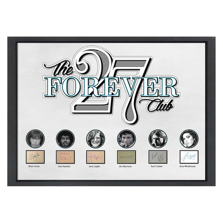 Signed + Framed Signature Collage // Forever 27 Collage